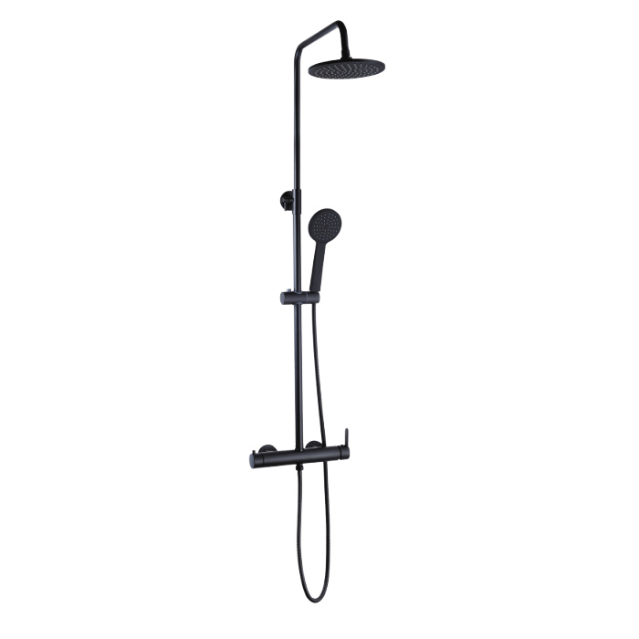 Chrome Brass Shower Column C6612M