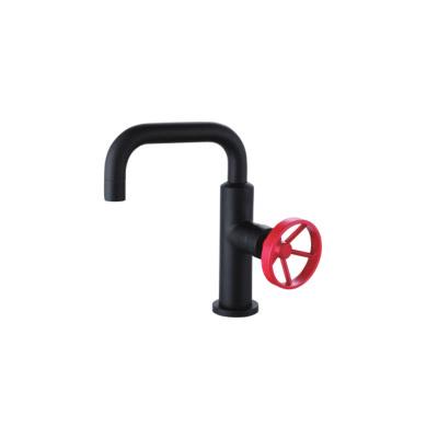 Round Deck Basin Faucet E00FA005