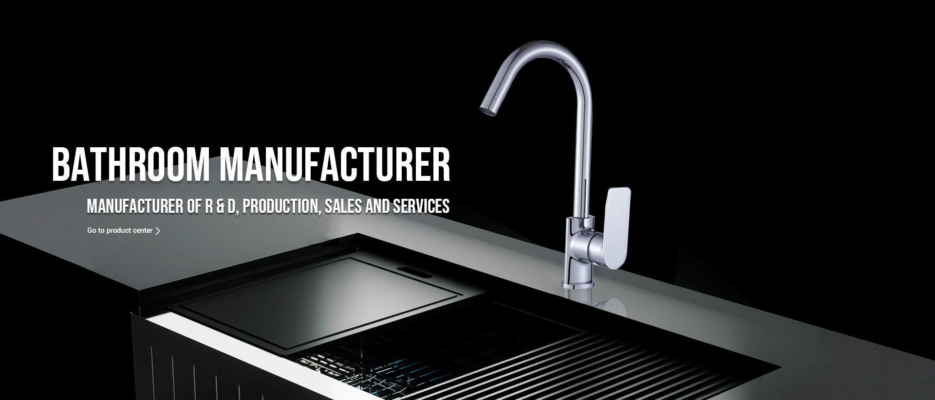 The faucet is a necessity for controlling the size of water flow