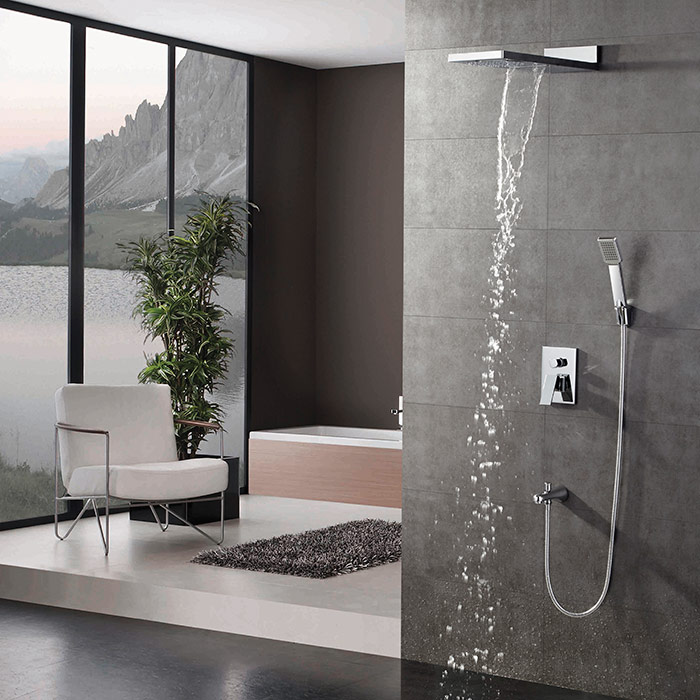 Single Handle Concealed Faucet
