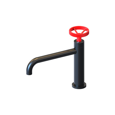 Color Painted Basin Faucets F11C004